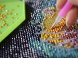 La broderie diamant : un loisir à la mode